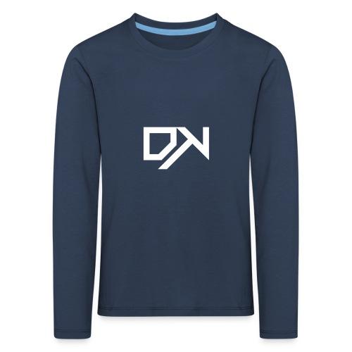 DewKee Logo Shirt Black - Kids' Premium Longsleeve Shirt