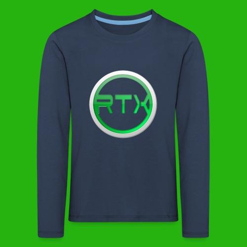 Logo SnapBack - Kids' Premium Longsleeve Shirt