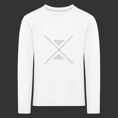 triangles-png - Kids' Premium Longsleeve Shirt