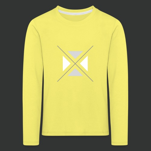triangles-png - Kids' Premium Longsleeve Shirt