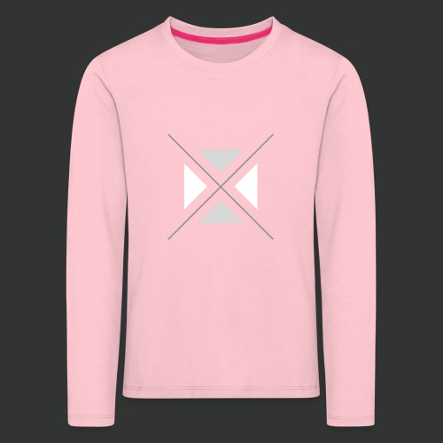 hipster triangles - Kids' Premium Longsleeve Shirt
