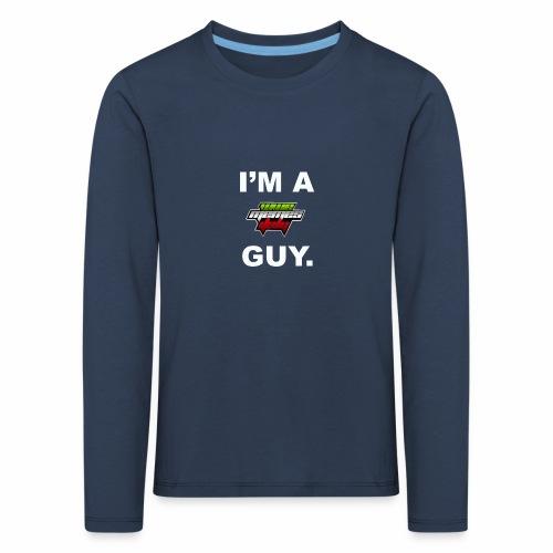 I'm a WMItaly guy! - Maglietta Premium a manica lunga per bambini