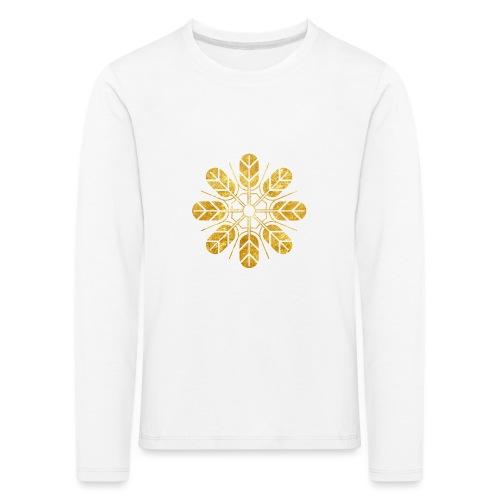 Inoue clan kamon in gold - Kids' Premium Longsleeve Shirt