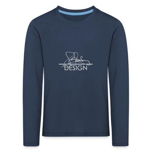 sasealey design logo wht png - Kids' Premium Longsleeve Shirt