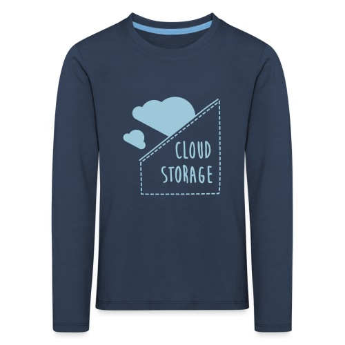 Cloud Storage - Kinder Premium Langarmshirt