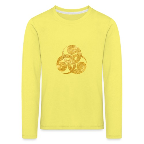 Tadpole Mon Japanese samurai clan - Kids' Premium Longsleeve Shirt
