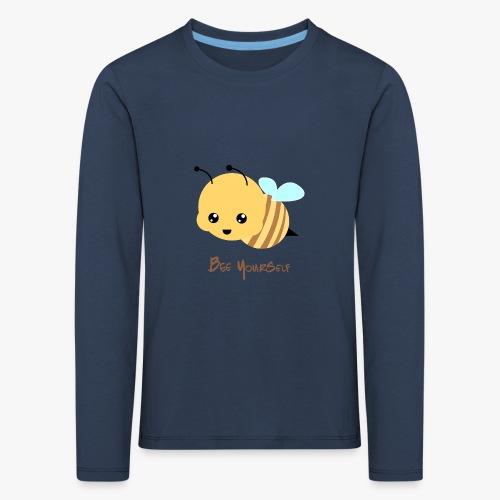 Bee Yourself - Børne premium T-shirt med lange ærmer