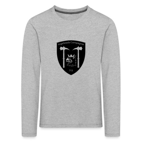 Kompanim rke 713 m nummer gray ai - Långärmad premium-T-shirt barn