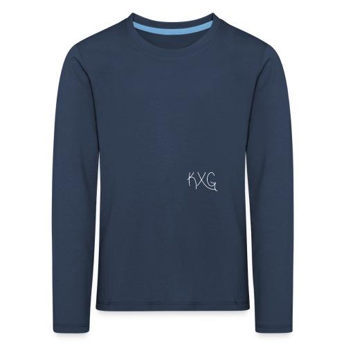 KXGlogo png - Kinderen Premium shirt met lange mouwen