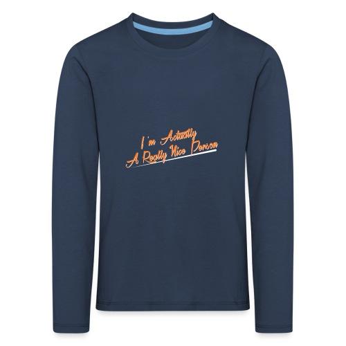 nice-person - Kids' Premium Longsleeve Shirt