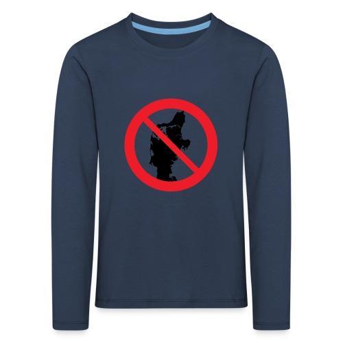 Jylland forbudt - Børnekollektion - Børne premium T-shirt med lange ærmer