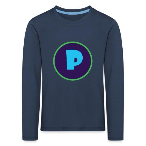 Loga - Långärmad premium-T-shirt barn