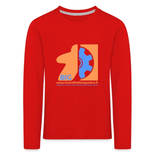 BIG - Maglietta Premium a manica lunga per bambini