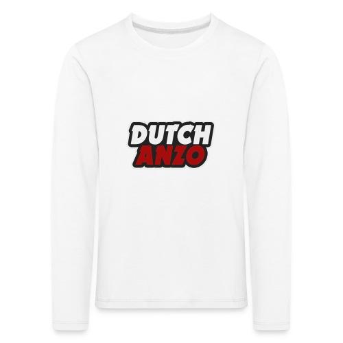 dutchanzo - Kinderen Premium shirt met lange mouwen