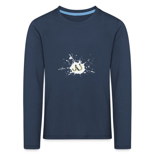 logo2 6 pinkki - Lasten premium pitkähihainen t-paita