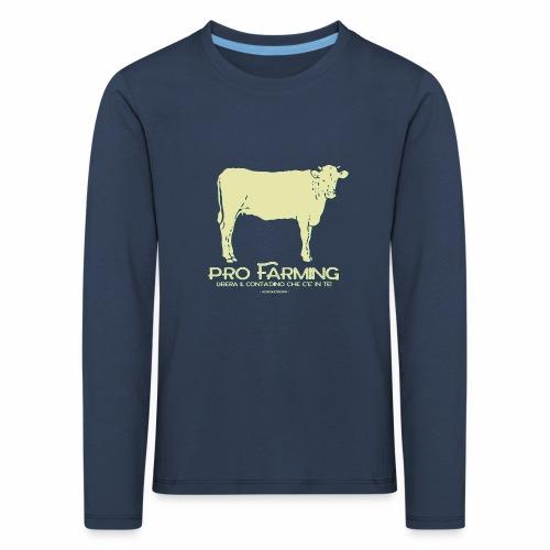 PRO Farming - Maglietta Premium a manica lunga per bambini