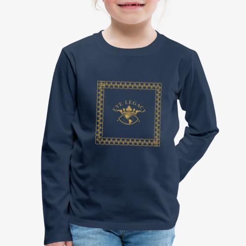 EYE LEGACY (Gold) - Kids' Premium Longsleeve Shirt