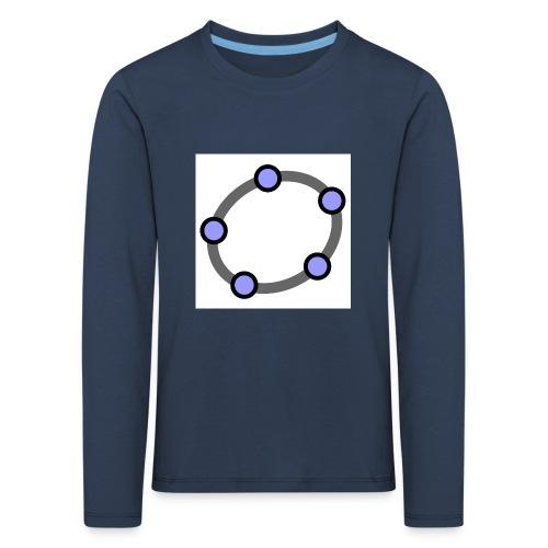 GeoGebra Ellipse - Kids' Premium Longsleeve Shirt