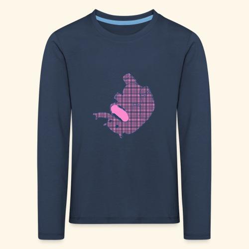 Elefant.PNG - Kinder Premium Langarmshirt