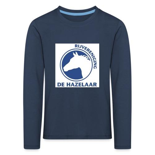 LgHazelaarPantoneReflexBl - Kinderen Premium shirt met lange mouwen