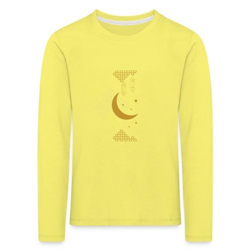 Ramadan Kareem Muslim holy month ilustration - Kids' Premium Longsleeve Shirt