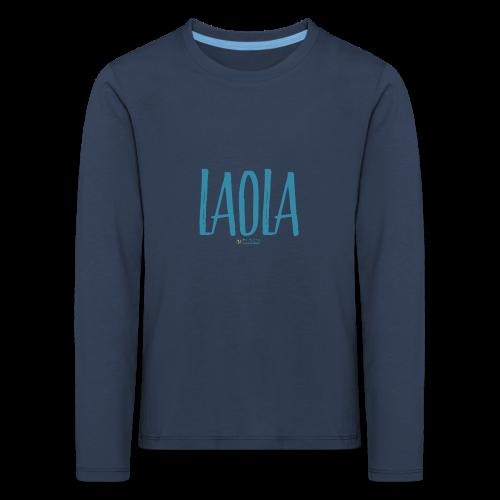 ola - Camiseta de manga larga premium niño