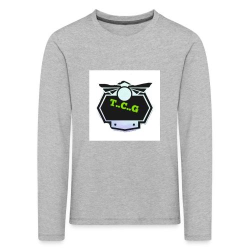 Cool gamer logo - Kids' Premium Longsleeve Shirt