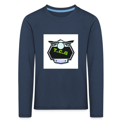 Cool gamer logo - Kids' Premium Longsleeve Shirt