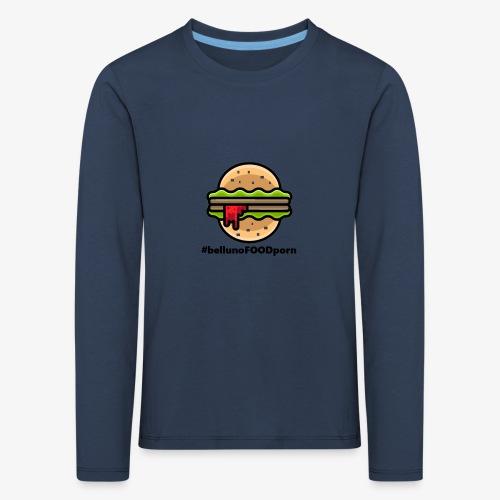 belluno FOOD burger - Maglietta Premium a manica lunga per bambini