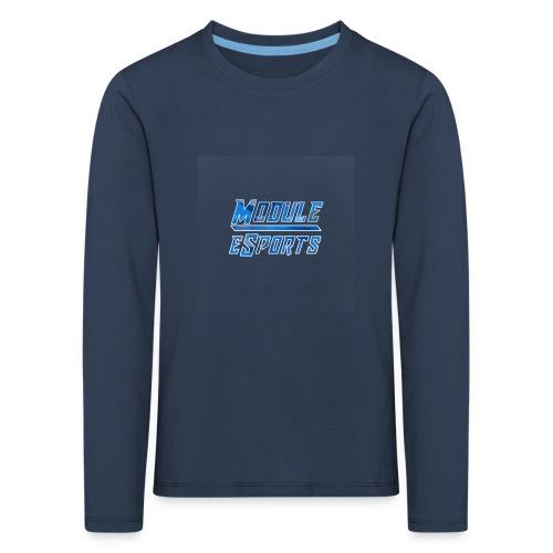 Module Text Logo - Kids' Premium Longsleeve Shirt