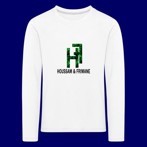 h&f - Maglietta Premium a manica lunga per bambini