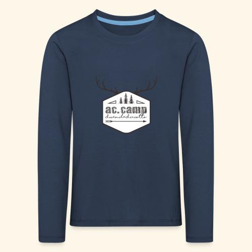 ac camp - Maglietta Premium a manica lunga per bambini