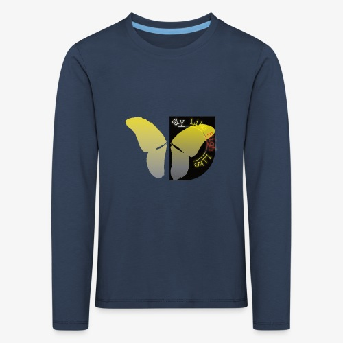Butterfly high - Kinder Premium Langarmshirt