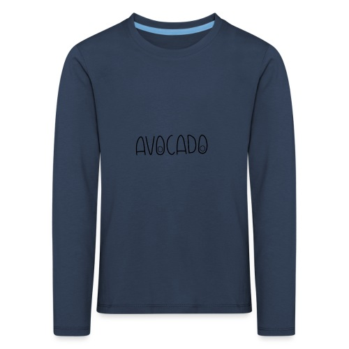 Avocado - Kinder Premium Langarmshirt