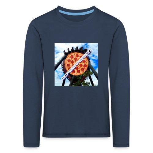 Old McPizzaPerson Logo #2 - Kids' Premium Longsleeve Shirt