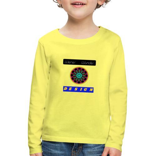 Wiener Wunder Design Logo #2 - Kinder Premium Langarmshirt