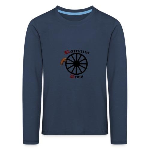 626878 2406580 lennyromanodromutanbakgrundsvartbjo - Långärmad premium-T-shirt barn