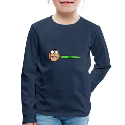Uhu - Kinder Premium Langarmshirt