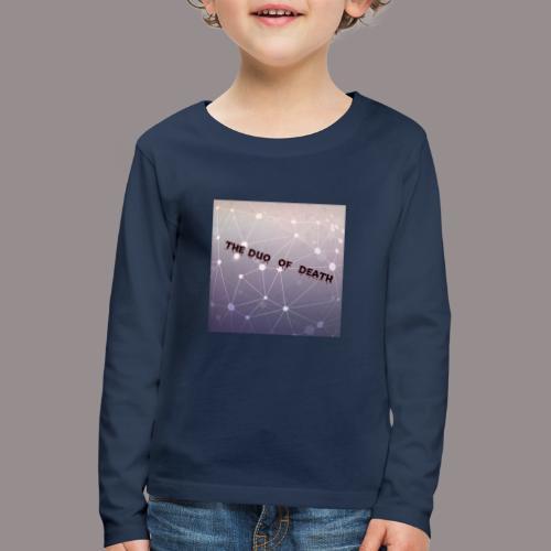 The duo of death logo - Kinderen Premium shirt met lange mouwen
