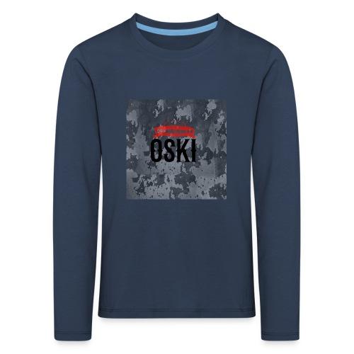 Osky - Camiseta de manga larga premium niño