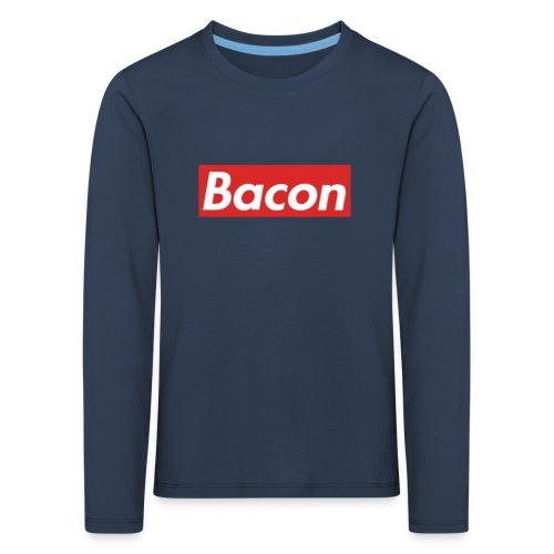 Bacon - Långärmad premium-T-shirt barn