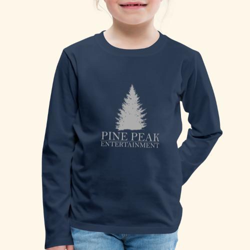 Pine Peak Entertainment Grey - Kinderen Premium shirt met lange mouwen