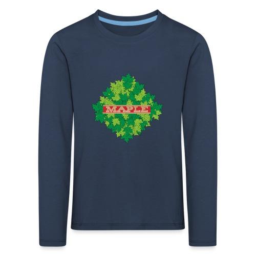 maple - Kinder Premium Langarmshirt