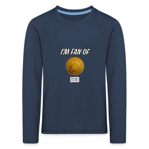 I'm fan of Eos - Maglietta Premium a manica lunga per bambini