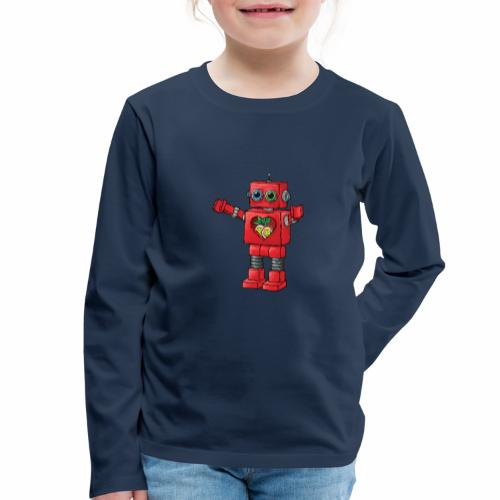 Brewski Red Robot IPA ™ - Kids' Premium Longsleeve Shirt