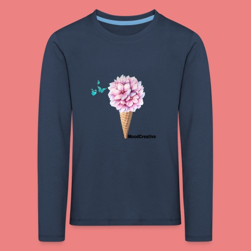 MoodCreativo - Maglietta Premium a manica lunga per bambini