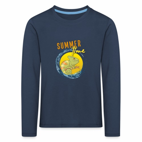 Chamäleon - Kinder Premium Langarmshirt