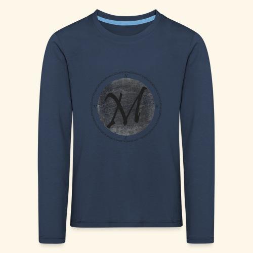 Montis logo2 - Långärmad premium-T-shirt barn