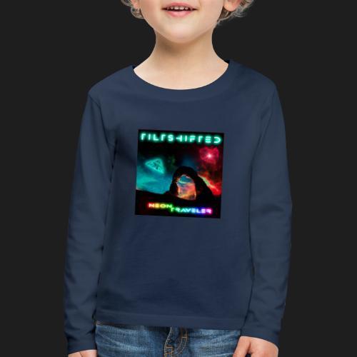 TiltShifted - Neon Traveler - Lasten premium pitkähihainen t-paita