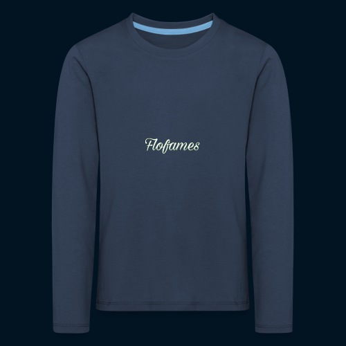 camicia di flofames - Maglietta Premium a manica lunga per bambini